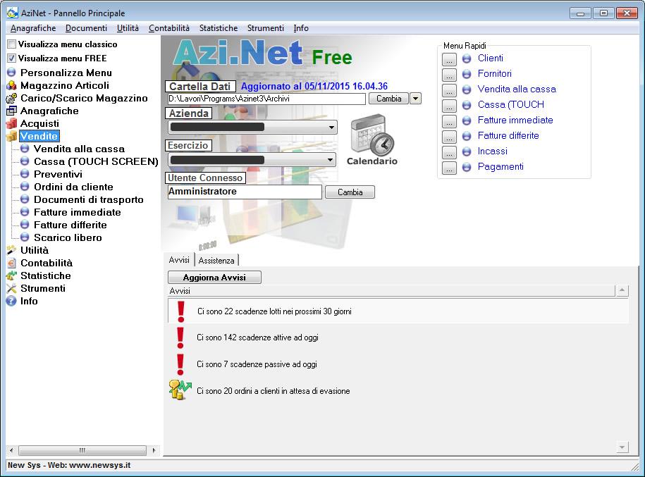Azi.Net full screenshot